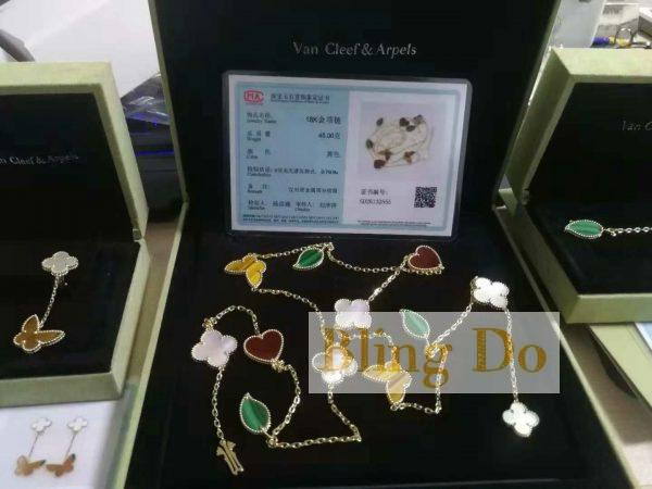 Van Cleef & Arpels Lucky Alhambra long necklace