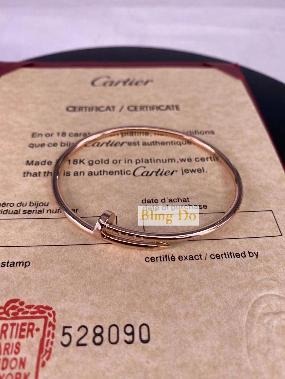 JUSTE UN CLOU Cartier BRACELET SM 18K PINK GOLD