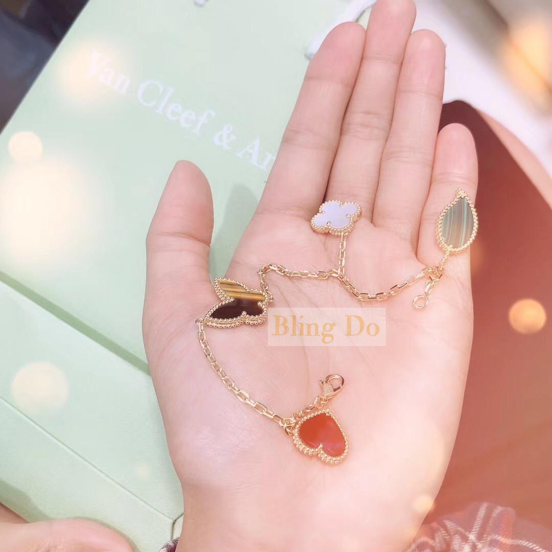 Lucky Alhambra bracelet 4 motifs