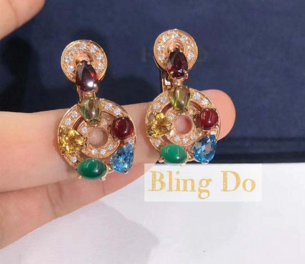 Bvlgari Cerchi 18kt yellow gold earrings