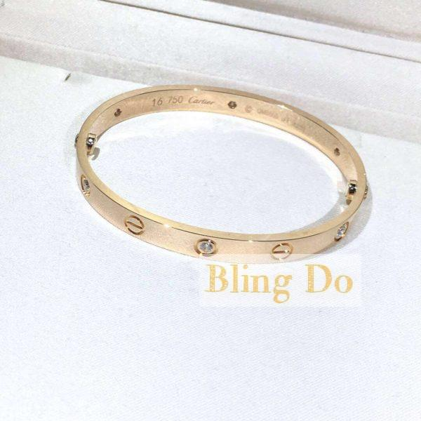 Cartier LOVE BRACELET with 6 DIAMONDS YELLOW GOLD
