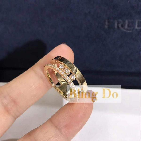 Messika Move Romane RING in 18K YELLOW GOLD