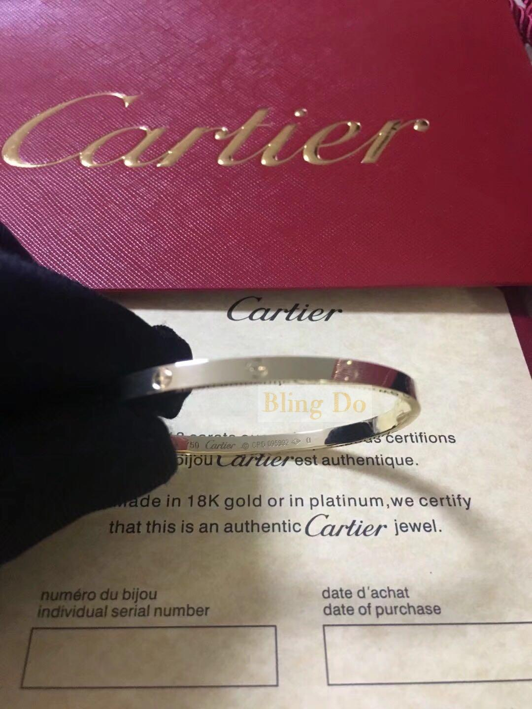 Cartier Love bracelet small model in 18K yellow gold