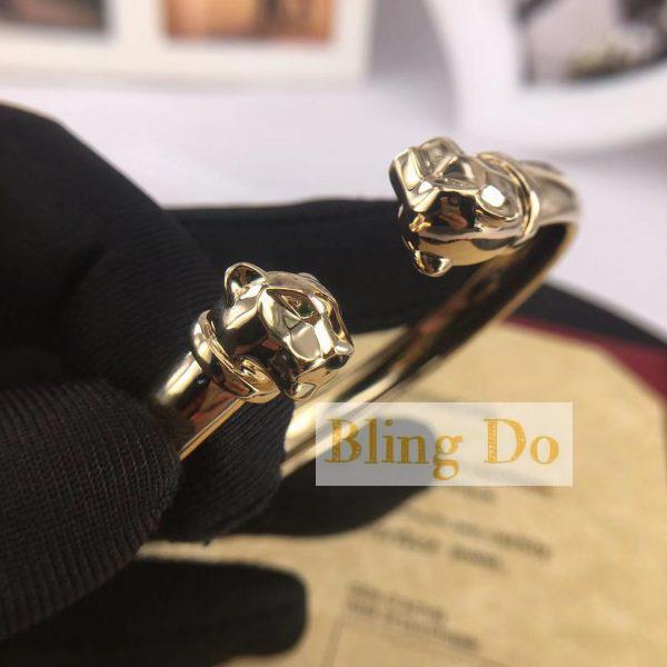 PANTHÈRE DE CARTIER BRACELETYELLOW GOLD, TSAVORITE GARNETS, ONYX