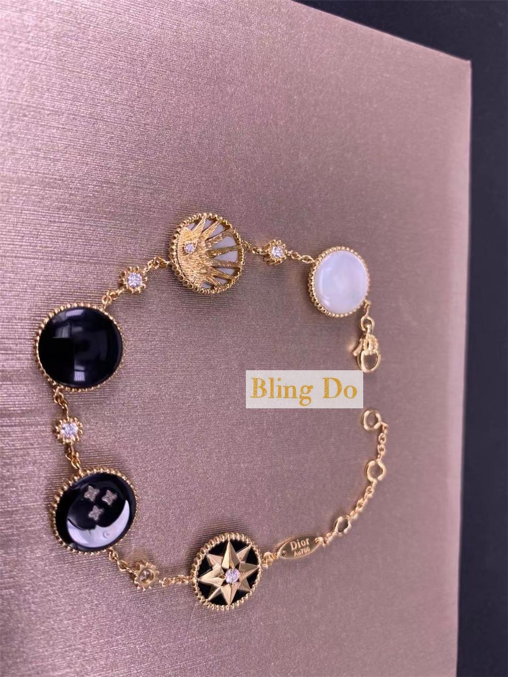 DIOR ROSE DES VENTS AND ROSE CÉLESTE BRACELET
